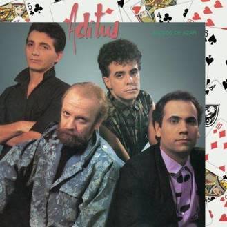 Carátula del disco Juegos de azar de Aditus (1985)