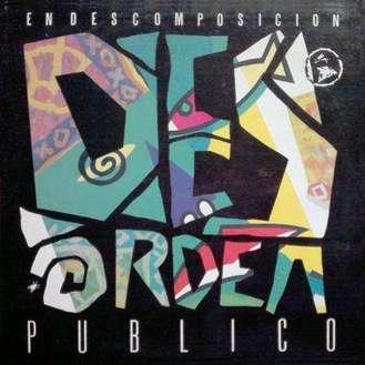 Carátula del disco En descomposición de Desorden Público (1990)