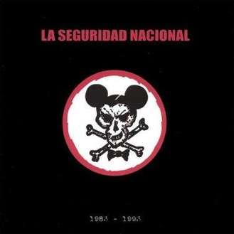 Carátula del disco 1983-1993 de La Seguridad Nacional (2005)