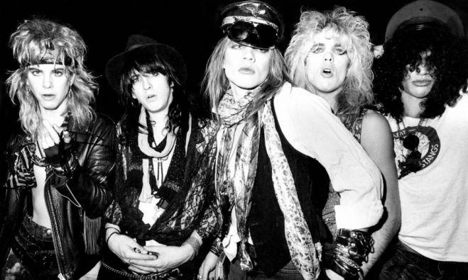 Guns N' Roses circa 1984.